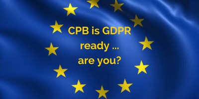CPB is GDPR Ready – Are You?