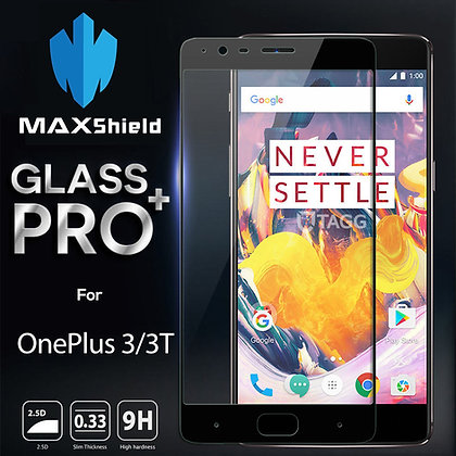 OnePlus 3 Tempered Glass Screen Protector [2 Pieces]