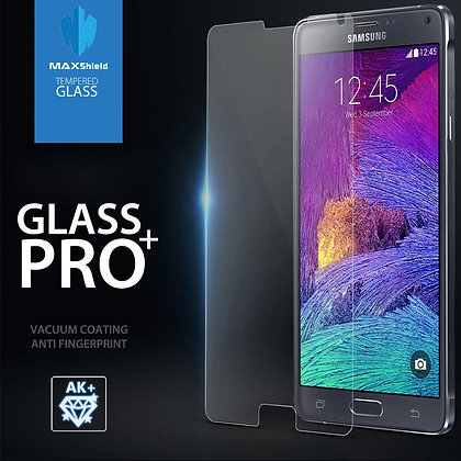 Galaxy Note 4 Tempered Glass Screen Protector [2 Pieces]
