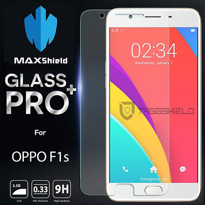 OPPO F1s Tempered Glass Screen Protector [2 Packs]