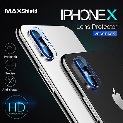 iPhone X Camera Lens Tempered Glass Screen Protector【2 Pieces】