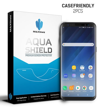 Galaxy S8 Case Friendly Screen Protectorr[2 Packs]