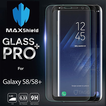 Galaxy S8 Plus Full Coverage Tempered Glass Screen Protector[2 Pieces