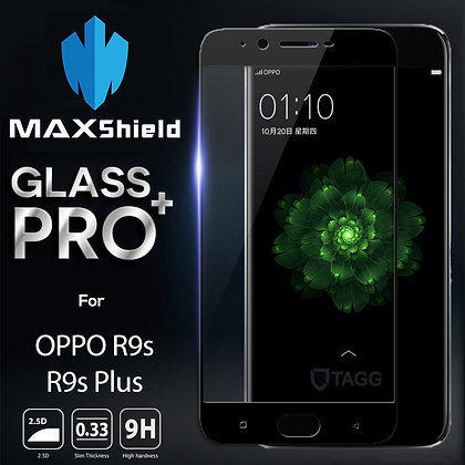 OPPO R9s Tempered Glass Screen Protector [2 Pieces]