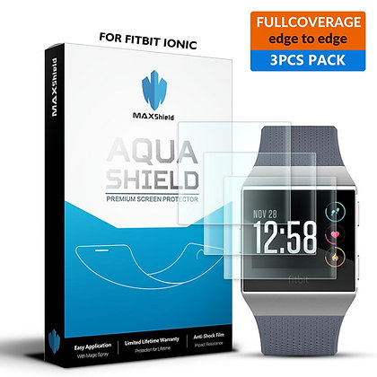 Fitbit ionic Full Coverage Screen Protector[3 Packs]