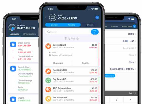 Управление личными финансами в кризис. Обзор приложения Moneywiz 3