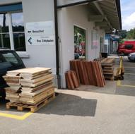 Holzlieferung