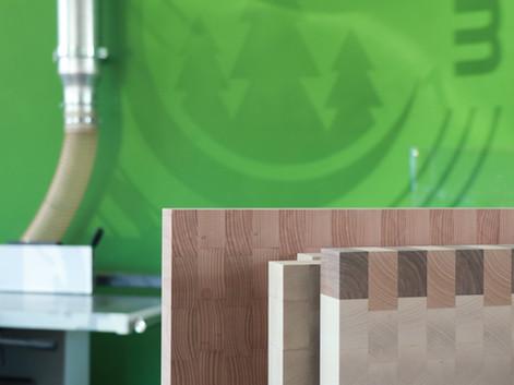 Stirnholz Schneidebrett aus Schweizer Holz. Traumbrett.