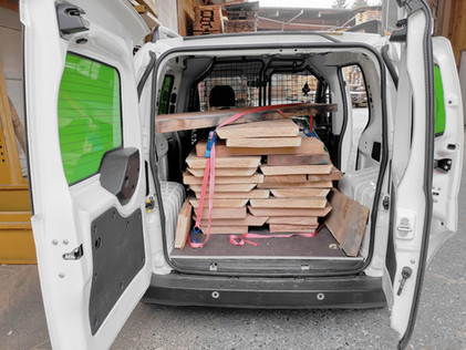 Peugeot Bipper Holztransport
