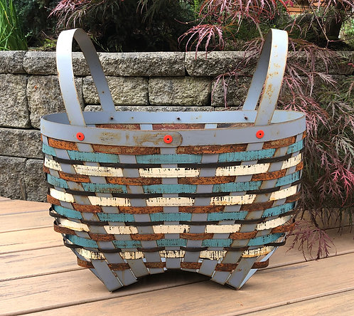 Peacock Basket