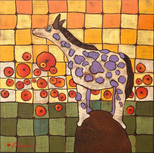 Purple Polka Dotted Pony