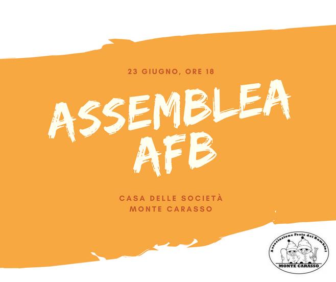 Assemblea annuale! Invitati tutti gli abitanti del quartiere di Monte Carasso e i collaboratori dell