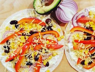 Lekkere quesadilla met guacemole