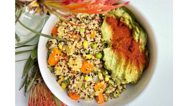 Quinoa Aloha