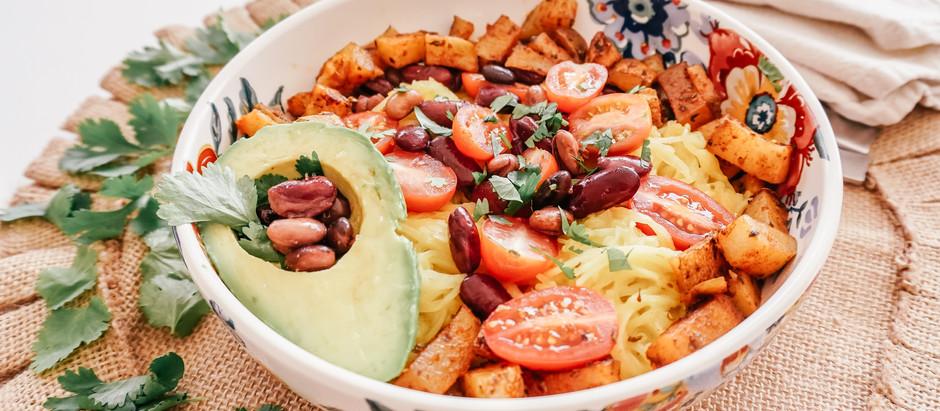Bowl de Spaghetti Squash a la Mexicana