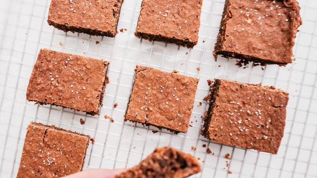 Brownies Veganos - Altos en Proteína