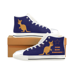Come Back Kangaroo Navy Blue Boys Shoes.