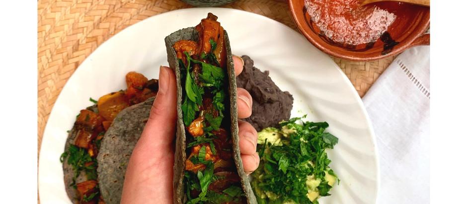 Tacos de Verduras al Achiote