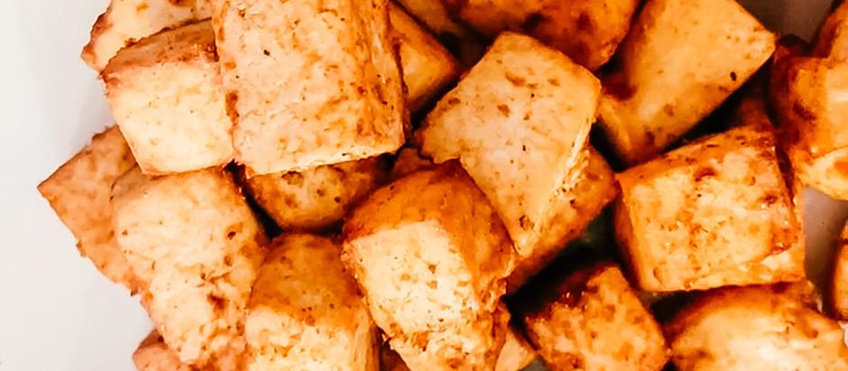Tofu fácil y delicioso.