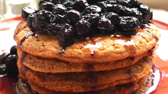 Hotcakes Esponjosos y Saludables