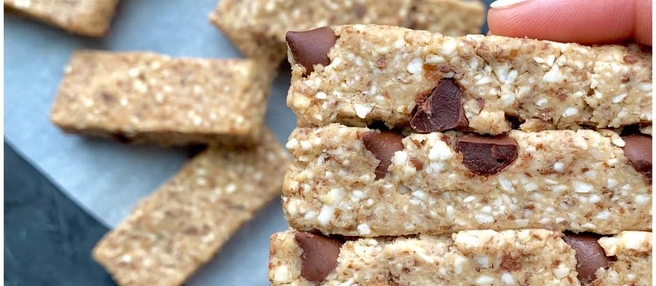 Barritas de Proteína Vegana - Cookie Dough