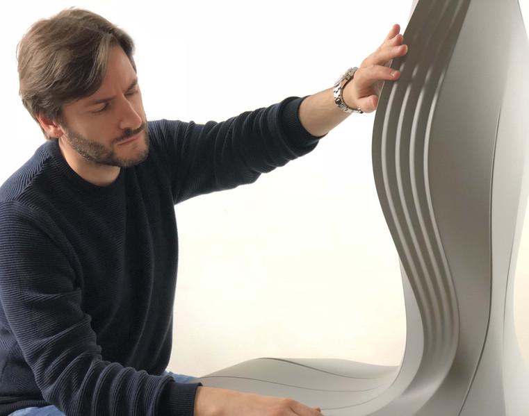 Arturo Tedeschi Oyster Chair (2018)
