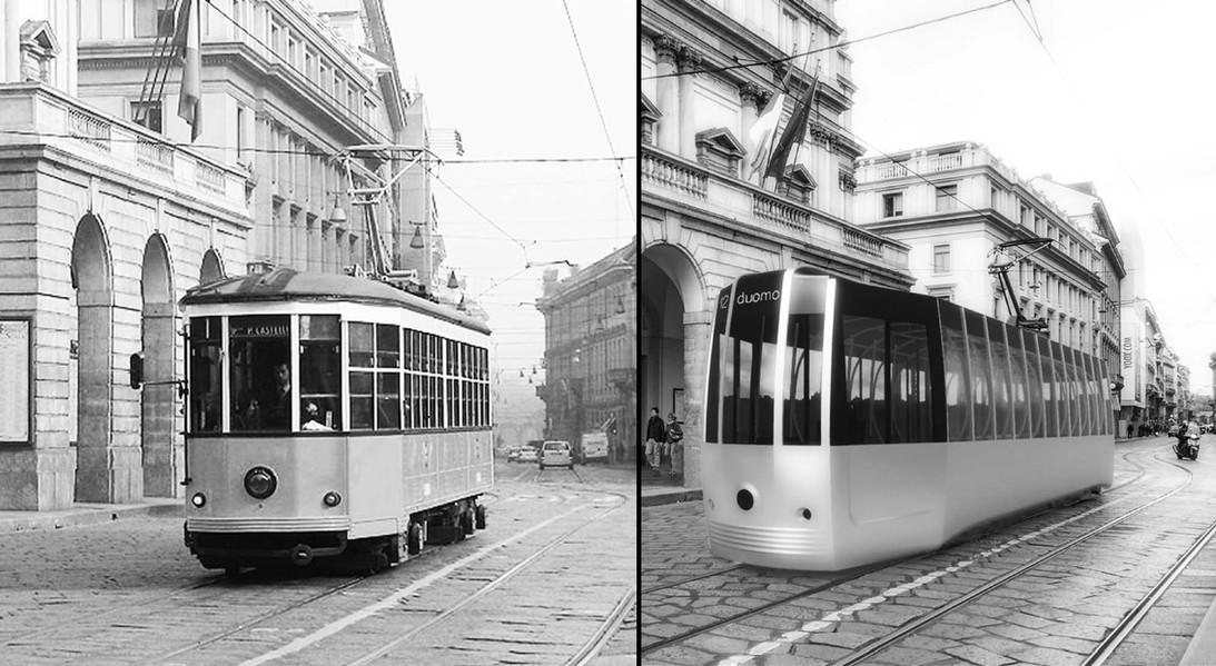 Arturo Tedeschi Tram Passerella Milano (2020)