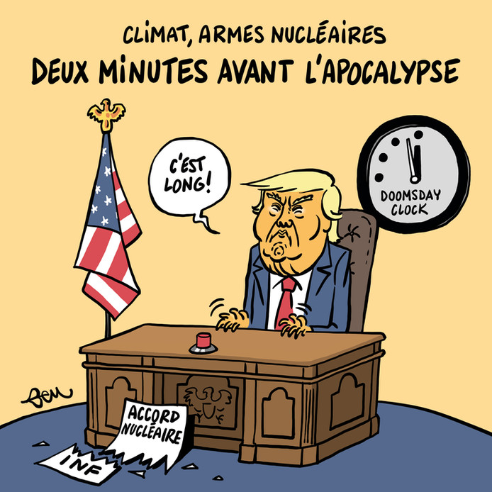Trump et l'accord nucléaire