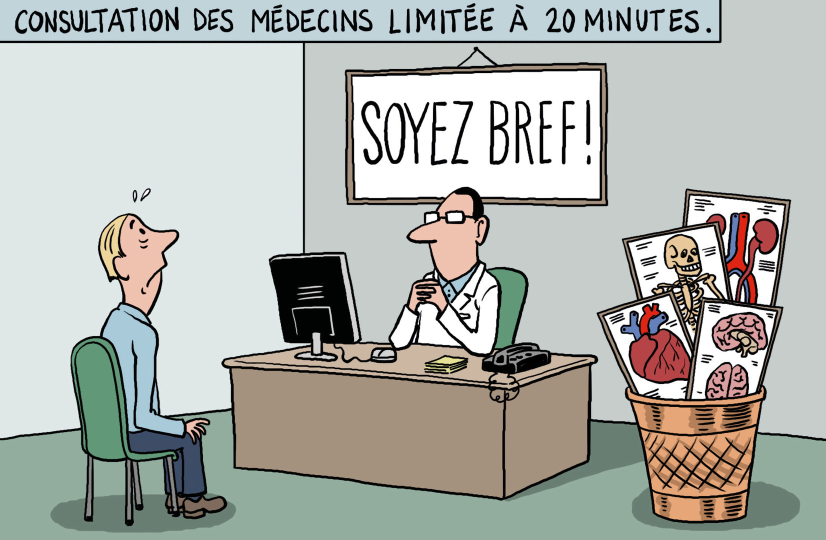 Temps accordé aux patients