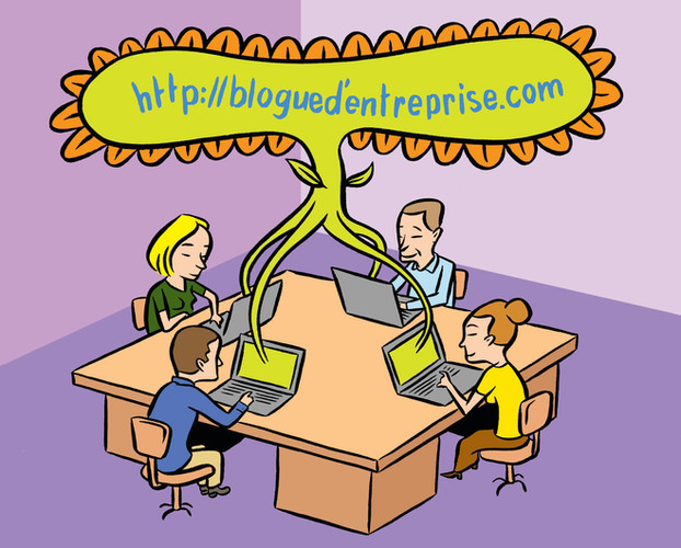 Blogues d'entreprise