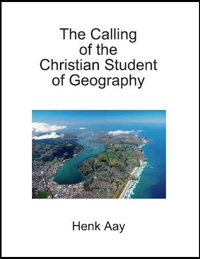 The Calling of the Christian Student of Geography