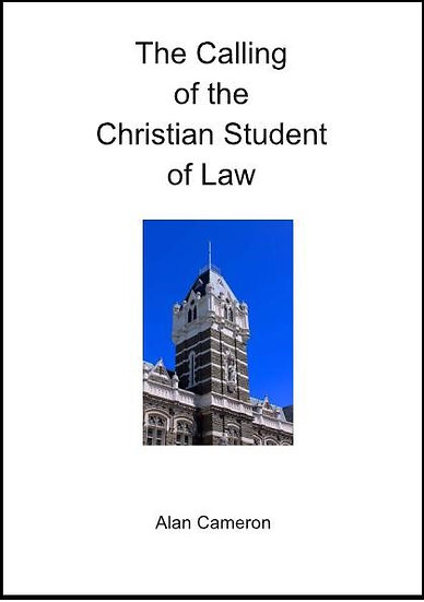 The Calling of the Christian Student of Law