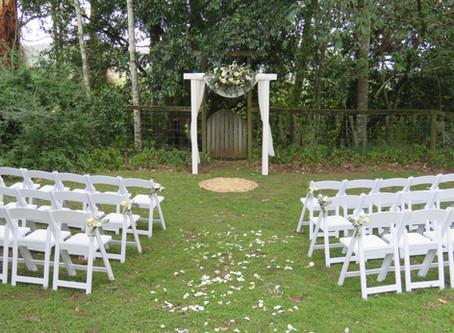 Casual Garden Wedding