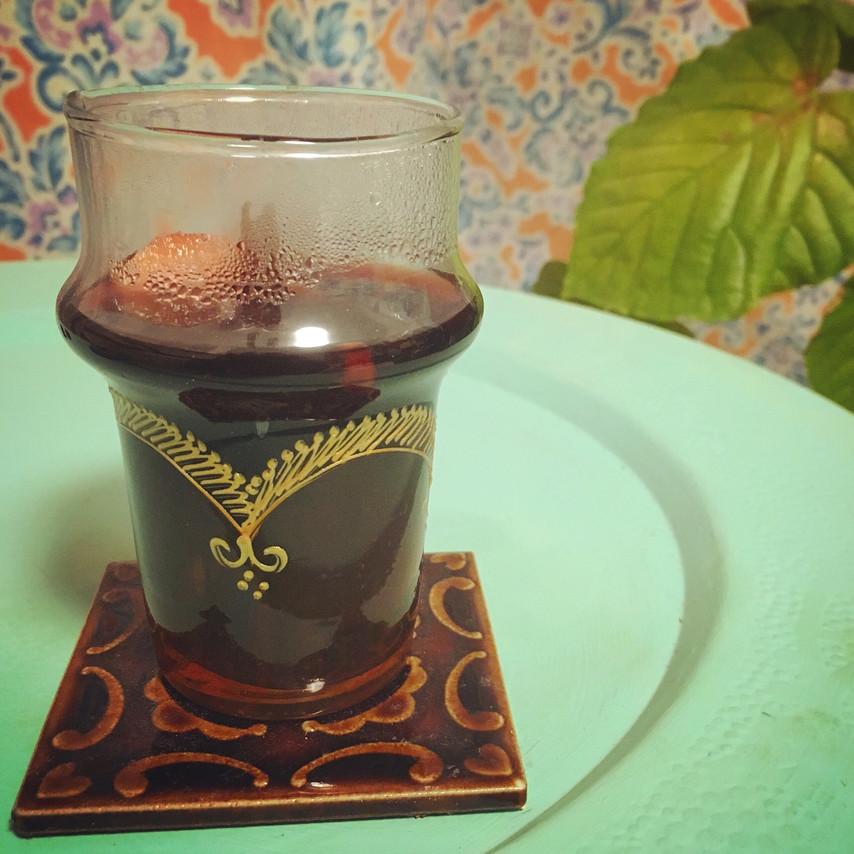 モロッコ便とチョコレートとホットワイン