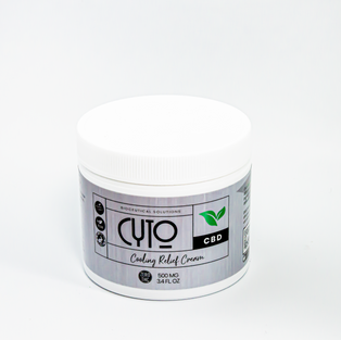 Cyto CBD Cooling Relief Cream (Zero THC)