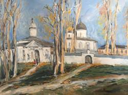 В. Ахмедова. Осень в Новгороде