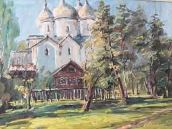 В. Ахмедова. Лето в Новгороде