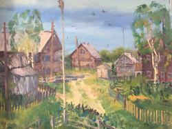 В. Сахарова. Деревня Рубчойла