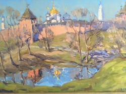В. Сахарова. Весенний разлив.