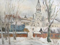 В. Ахмедова. Зима в Новгороде