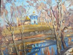 В. Сахарова. Октябрьская синь