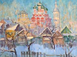 В. Сахарова. Морозное утро