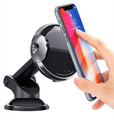 TQGEAR Wireless Charging Car Phone Holder