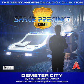 Space Precinct Demeter City AudioBook