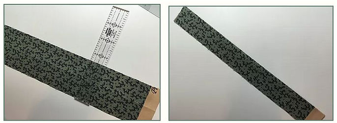 folded quilt binding instructions