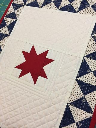 Star Spangled mini quilt