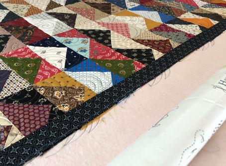 Second quilt on new machine!