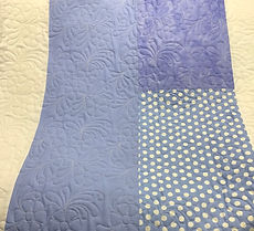 Example of pieced backing