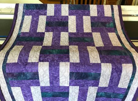 Purple Scissor Quilt