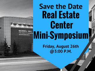 UNO Real Estate Center Mini Symposium
